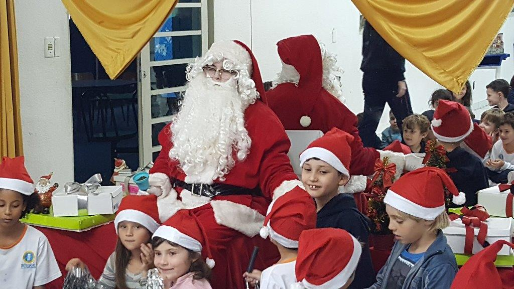 Chegada do Papai Noel – Semana de Recreação