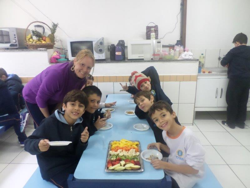 Fruit Salad and Pancake – 2º ano