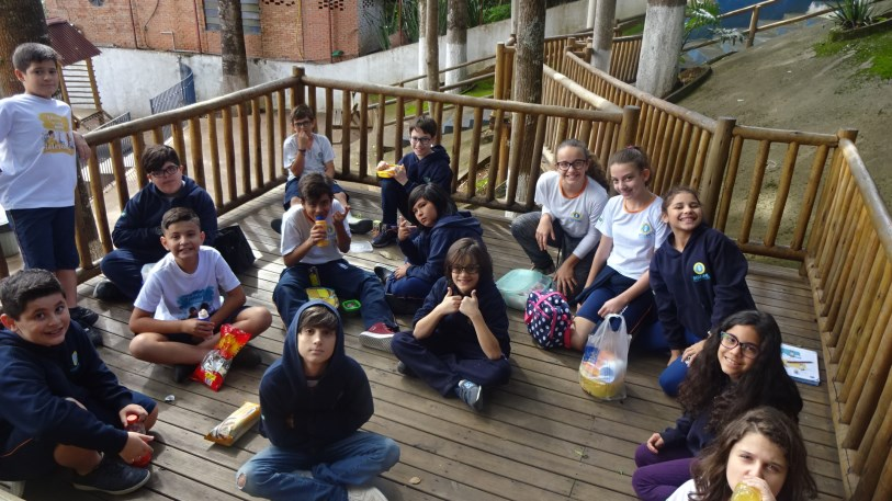 Picnic in English class – 5º ano