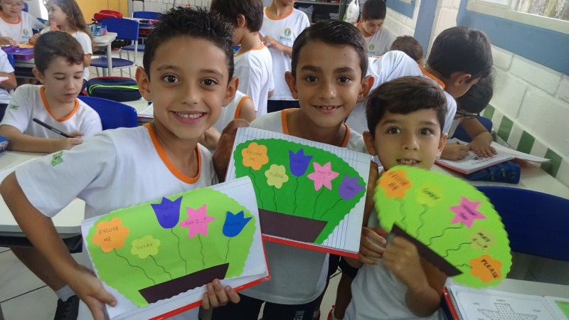 GARDEN OF GOOD MANNERS – 1º ano