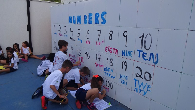 PRACTING THE NUMBERS 1-100 (4º ano)
