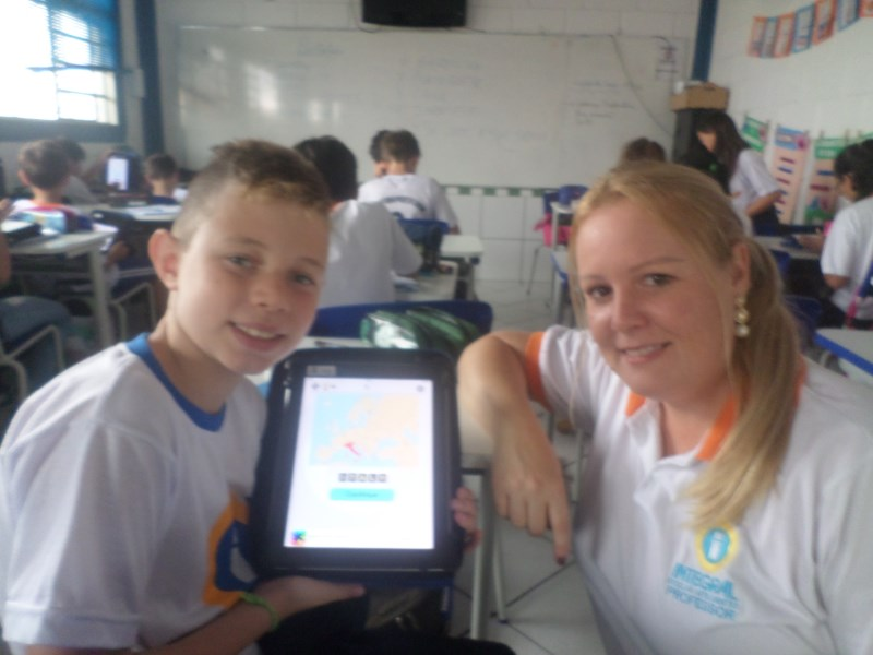 Apps in English – 5º ano –  Learning about countries and nationalities