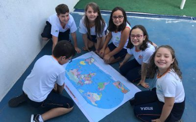 Learning about countries and nationalities! – 3º ano
